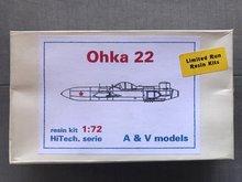 A+V Models AV.. - Ohka 22 - 1:72