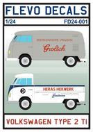 FD24-001 - Volkswagen Type 2 TI - 1:24 - [Flevo Decals]