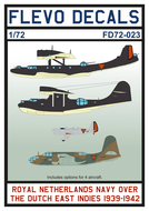 FD72-023 - Royal Netherlands Navy Over The Dutch East Indies 1939-1942 - 1:72 - [Flevo Decals]