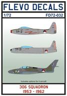 FD72-032 - 306 Squadron 1953-1962 - 1:72 - [Flevo Decals]
