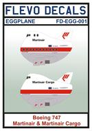 FD-EGG-001 - Boeing 747 Martinair & Martinair Cargo - EGGPLANE - [Flevo Decals]