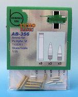 Eureka XXL AB-356 / AB-3506 - Ammo Basic Set - 8,8 cm Ammo for Kw.K.36 - 1:35