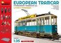 MiniArt-38009-European-Tramcar--(StraBenbahn-Triebwagen-641)-w-Crew-&-Passengers-1:35