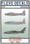 FD72-032-306-Squadron-1953-1962-1:72-[Flevo-Decals]