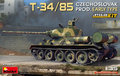 MiniArt-37069-T-34-85-Czechoslovak-Prod.-Early-Type-INTERIOR-KIT-1:35