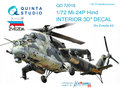Quinta-Studio-QD72018-Mi-24P--3D-Printed-&-coloured-Interior-on-decal-paper--(for-Zvezda-kit)-1:72