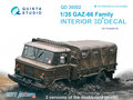 Quinta-Studio-QD35002-GAZ-66-Family--3D-Printed-&-coloured-Interior-on-decal-paper--(for-Trumpeter-kits)-1:35
