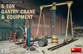 MiniArt-35589-5-Ton-Gantry-Crane-&-Equipment-1:35