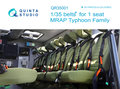 Quinta-Studio-QR35001-1-35-belts-for-1-seat-MRAP-Typhoon-Family--3D-Printed-&-coloured-Interior-on-decal-paper-1:35