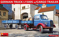 MiniArt-38023-German-Truck-L1500S-with-Cargo-Trailer-1:35