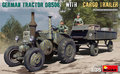 MiniArt-35317-German-Tractor-D8506-With-Cargo-Trailer-1:35
