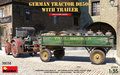MiniArt-38038-German-Tractor-D8506-With-Trailer-1:35
