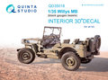 Quinta-Studio-QD35018-Willys-MB-3D-Printed-&-coloured-Interior-on-decal-paper-(for-all-kit)-1:35