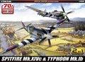 Academy-12512-Spitfire-MK.-XIVc-&-Typhoon-MK.Ib